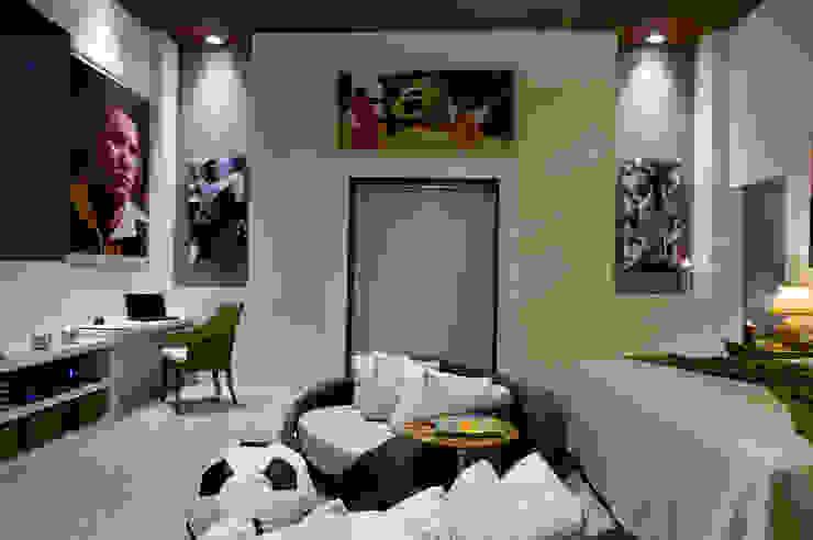 Casa Cor SP Suíte de Futebol FJ Novaes Light Projects Quartos modernos