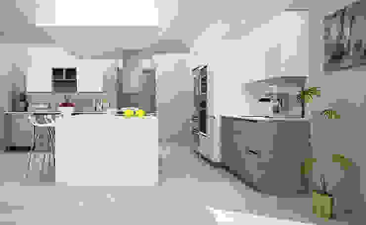 Casa Club de Golf Cocinas modernas de Citlali Villarreal Interiorismo & Diseño Moderno