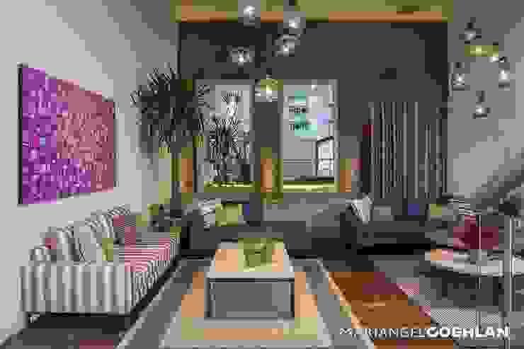 Salas / recibidores de estilo  por MARIANGEL COGHLAN, Moderno