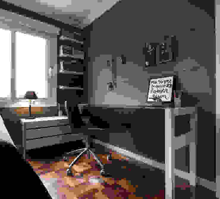 mob. NILO Quartos minimalistas por Ateliê 7 arquitetura e design integrados Minimalista