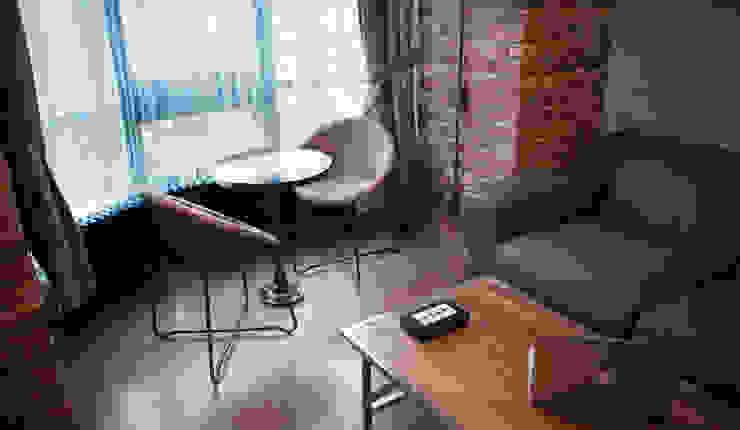 36 Гостиная в стиле лофт от Elena Koroleva Лофт