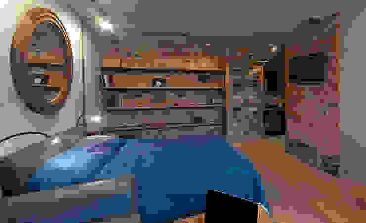 Industriële slaapkamers van Elena Koroleva Industrieel
