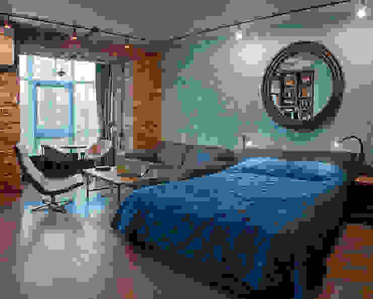 36 Спальня в стиле лофт от Elena Koroleva Лофт