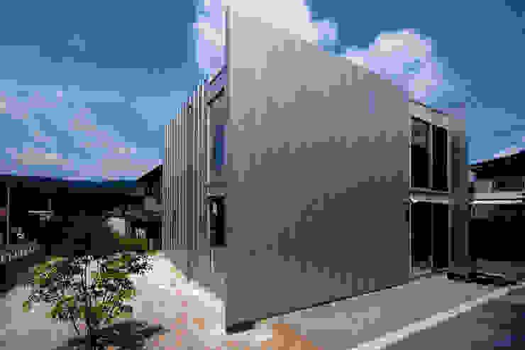 ウイングハウスの外観 モダンな 家 の 土居建築工房 モダン