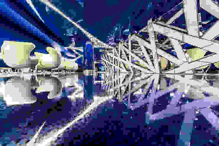 """IMAX Crystal в ТРК """"Питерленд"""" Торговые центры в стиле модерн от Belimov-Gushchin Andrey Модерн"""