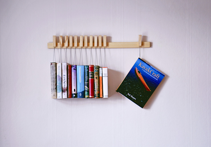 Book rack in Ash de agustav Moderno