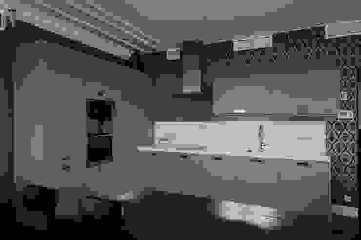 Квартита в ЖК <q>Смоленская застава</q>. Кухни в эклектичном стиле от Tedderson Эклектичный