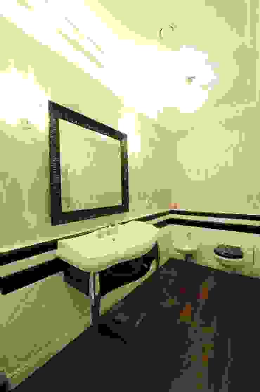 Квартита в ЖК <q>Смоленская застава</q>. Ванная комната в эклектичном стиле от Tedderson Эклектичный
