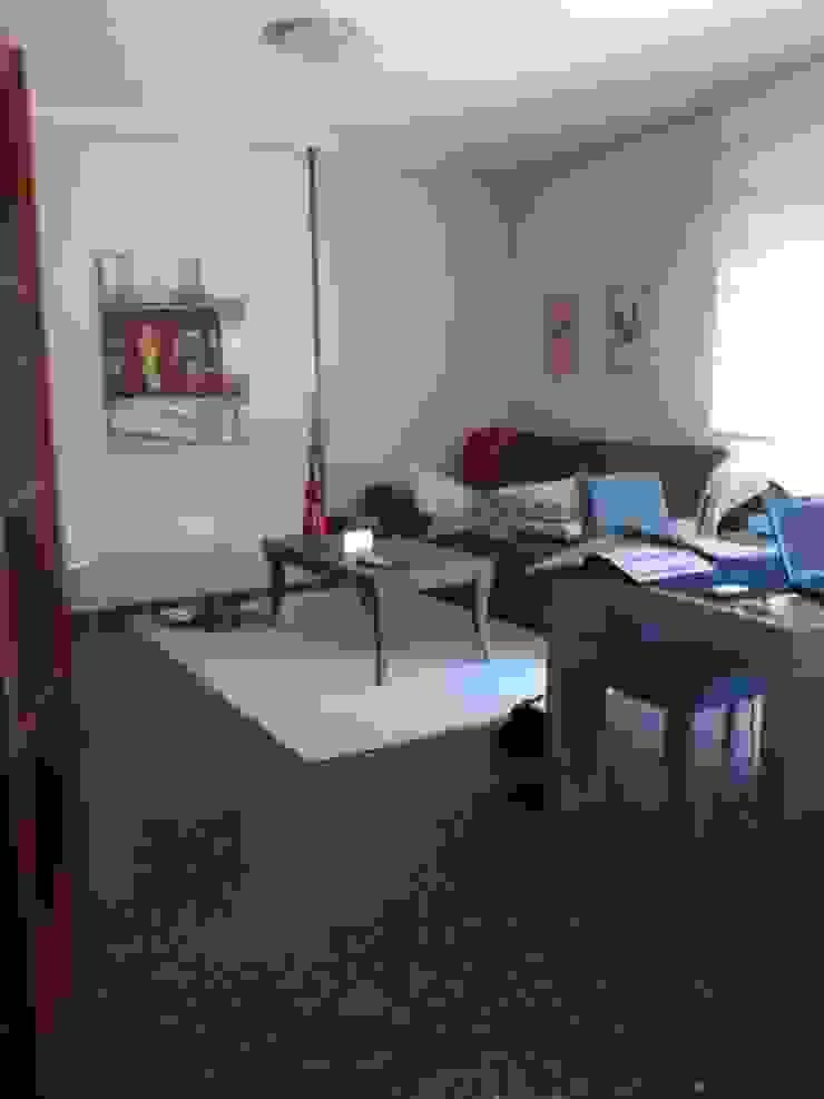 Antes y después de la reforma de una vivienda en el barrio de la Azucarera de Zaragoza. de A54Insitu