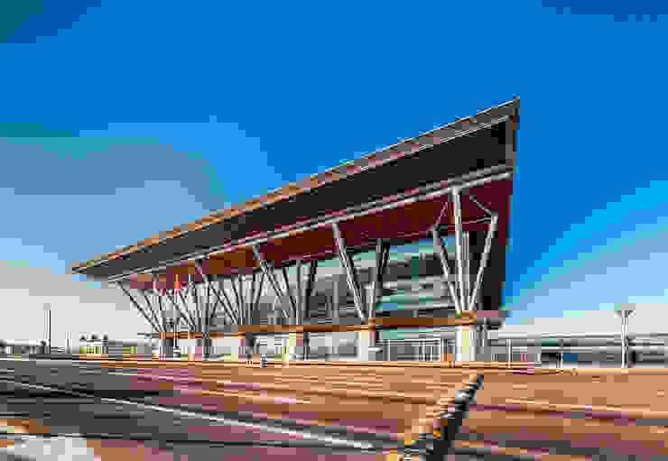 Международный морской порт <q>Морской фасад</q> в Санкт-Петербурге Аэропорты в средиземноморском стиле от Belimov-Gushchin Andrey Средиземноморский