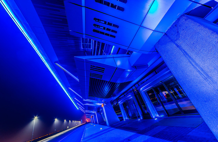 Международный морской порт <q>Морской фасад</q> в Санкт-Петербурге Аэропорты в скандинавском стиле от Belimov-Gushchin Andrey Скандинавский