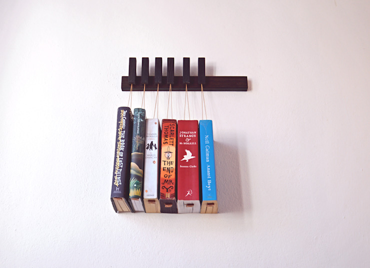 Mini Book Rack in Wenge agustav КухняХранение