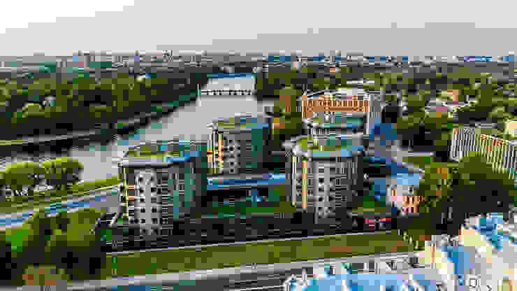 Diadema Club House Дома в скандинавском стиле от Belimov-Gushchin Andrey Скандинавский
