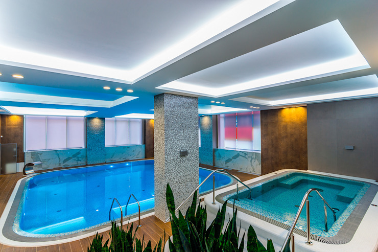 Diadema Club House Бассейн в классическом стиле от Belimov-Gushchin Andrey Классический