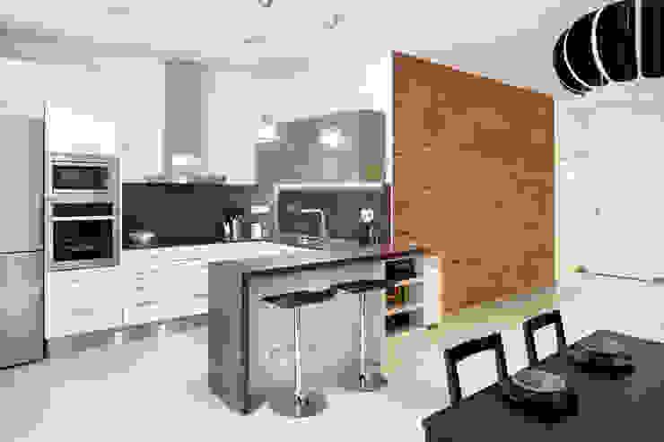 Cozinhas mediterrâneas por GPA Gestión de Proyectos Arquitectónicos ]gpa[® Mediterrâneo