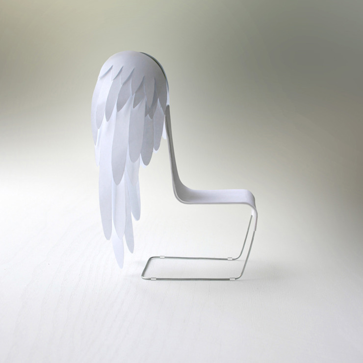 Angel Chair:  Dining room by Kibardin Design,