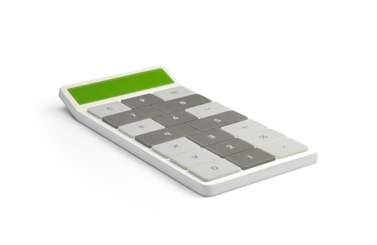 Hopscotch Calculator van Kibardin Design Industrieel
