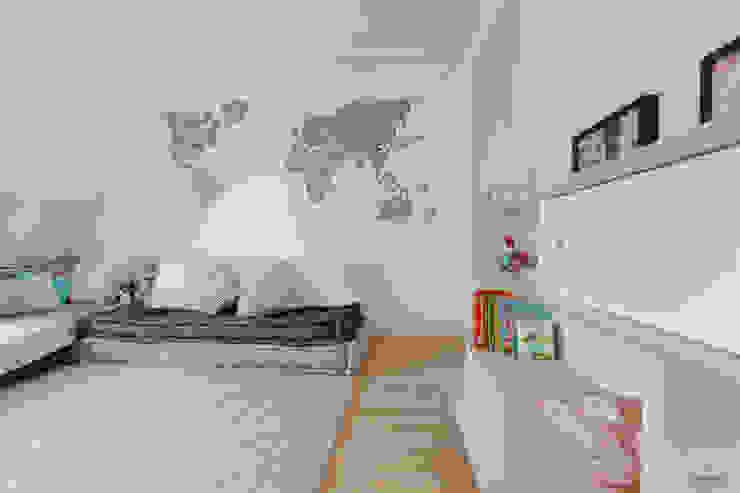 PROYECTO DE INTERIORISMO EN LA HAYA, HOLANDA Dormitorios infantiles de estilo escandinavo de A54Insitu Escandinavo
