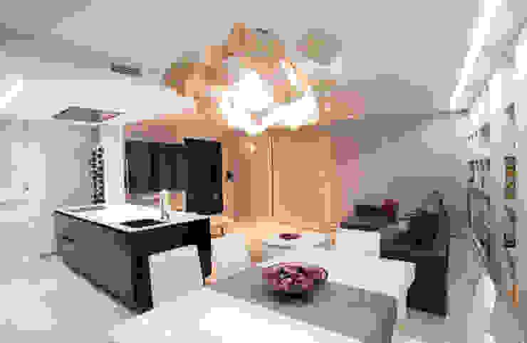 Como decorar mi casa para ganar luz Comedores de estilo moderno de Estatiba construcción, decoración y reformas en Ibiza y Valencia Moderno