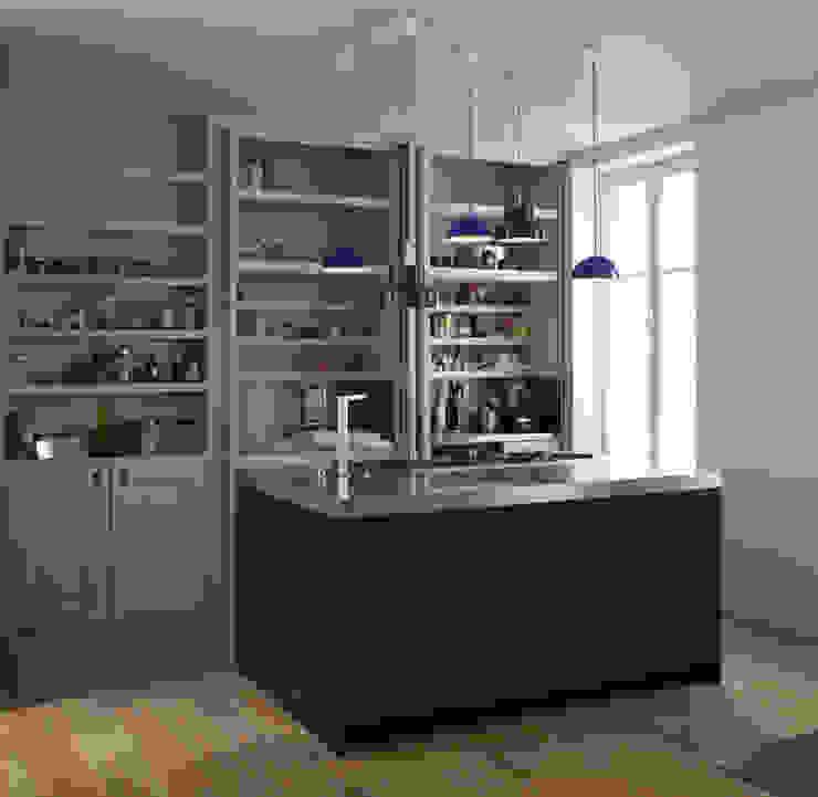 Cuisine Cuisine moderne par Atelier architecture située Moderne