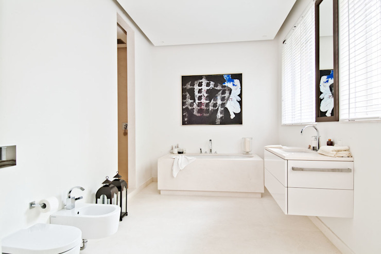 Modern style bathrooms by dziurdziaprojekt Modern