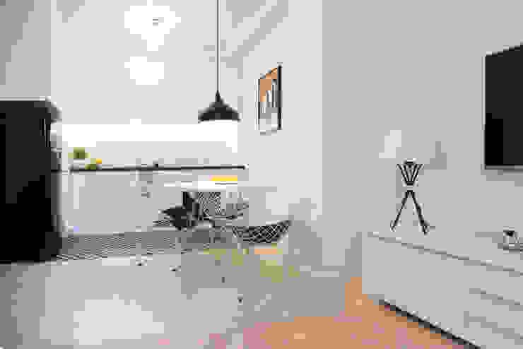 Dapur Gaya Skandinavia Oleh dziurdziaprojekt Skandinavia