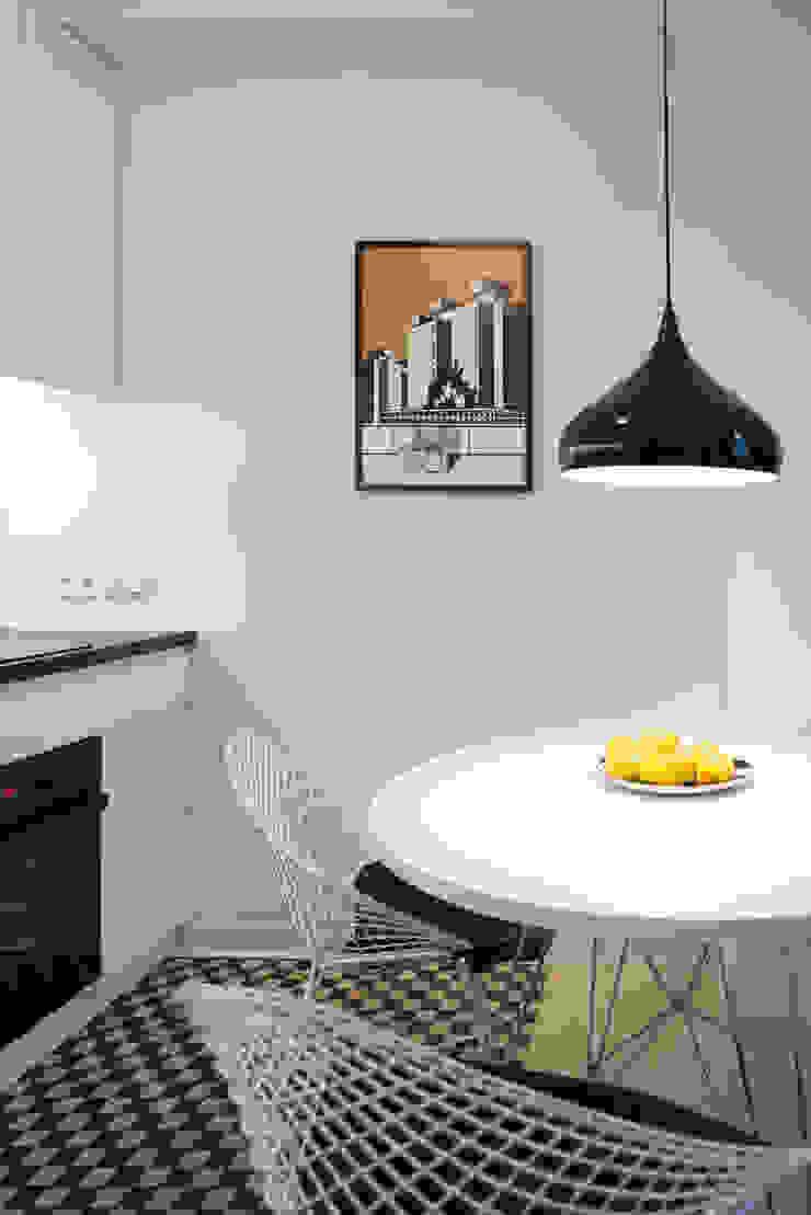 38 m, Plac Zbawiciela, Wwa Minimalistyczna kuchnia od dziurdziaprojekt Minimalistyczny