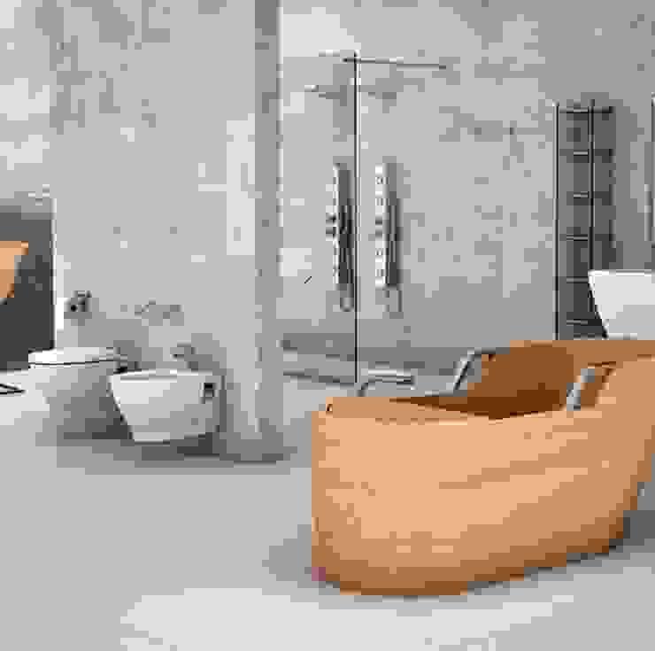 Industrial style bathroom by Plaza Yapı Malzemeleri Industrial