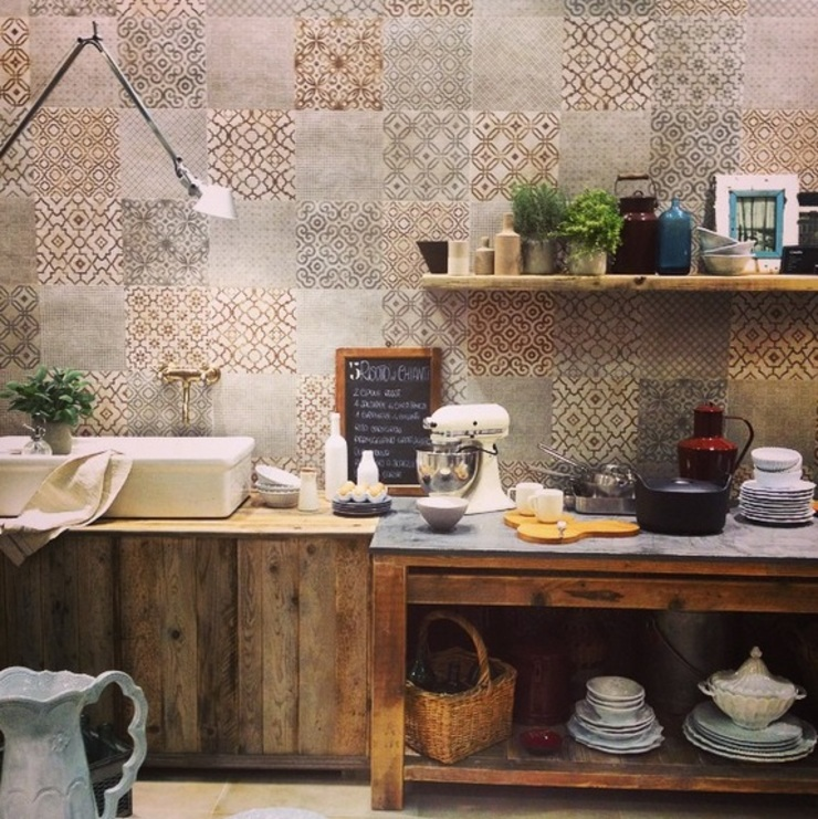 Eclectic style bathroom by Plaza Yapı Malzemeleri Eclectic