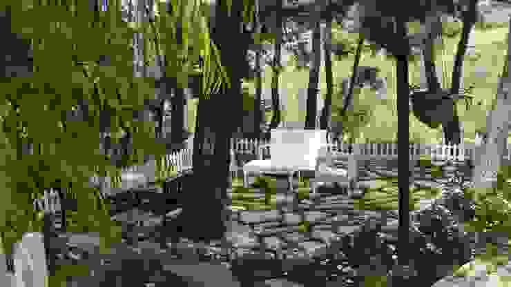 Balcones y terrazas de estilo mediterráneo de sihirlipeyzaj Mediterráneo