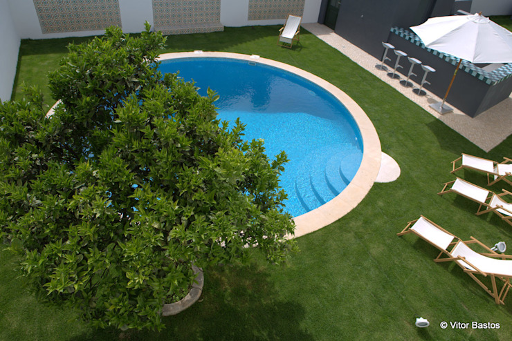 Classic style pool by shfa Classic