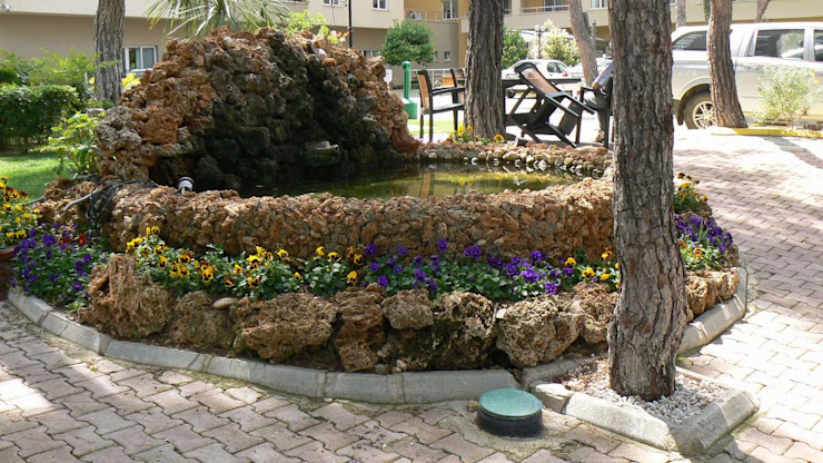 Jardins mediterrânicos por sihirlipeyzaj Mediterrânico