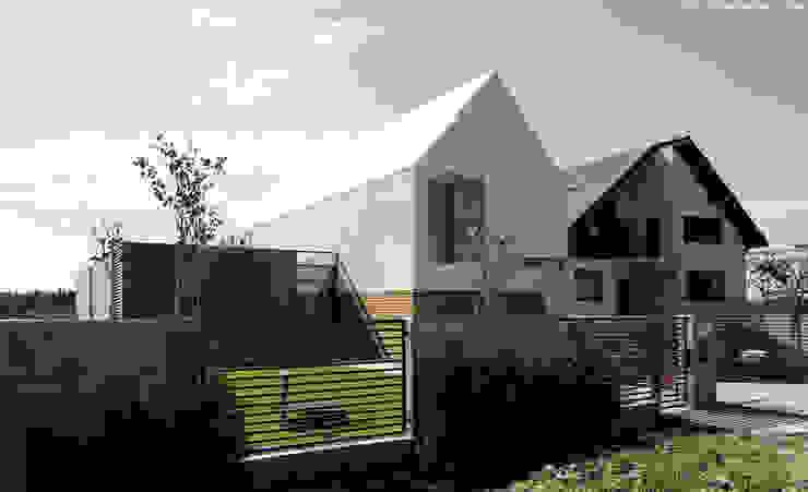 dom pod Gdańskiem Minimalistyczne domy od PRACOWNIA 111 Minimalistyczny