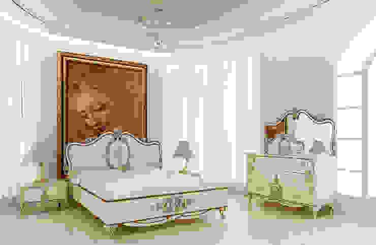 White Avangarde Bedroom ( http://www.eronur.com/ ) Inan AYDOGAN /IA Interior Design Office Klasik