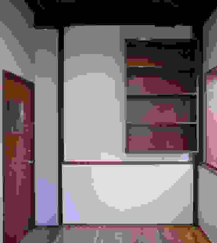 事務所兼応接室 オリジナルデザインの リビング の 株式会社エキップ オリジナル