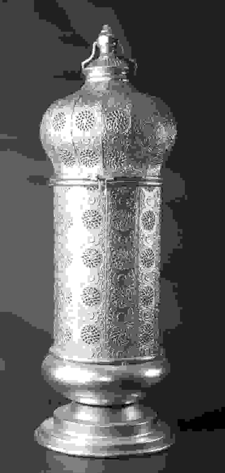 Farola de metal para vela de Goyart.com Minimalista