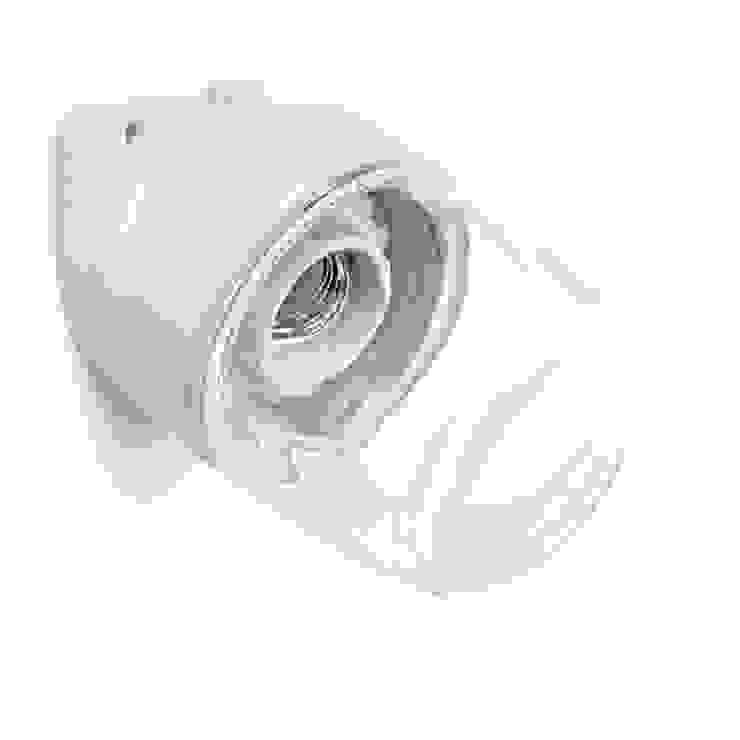 lampa Bauhaus Lindner porcelana i szkło od Intterno Industrialny
