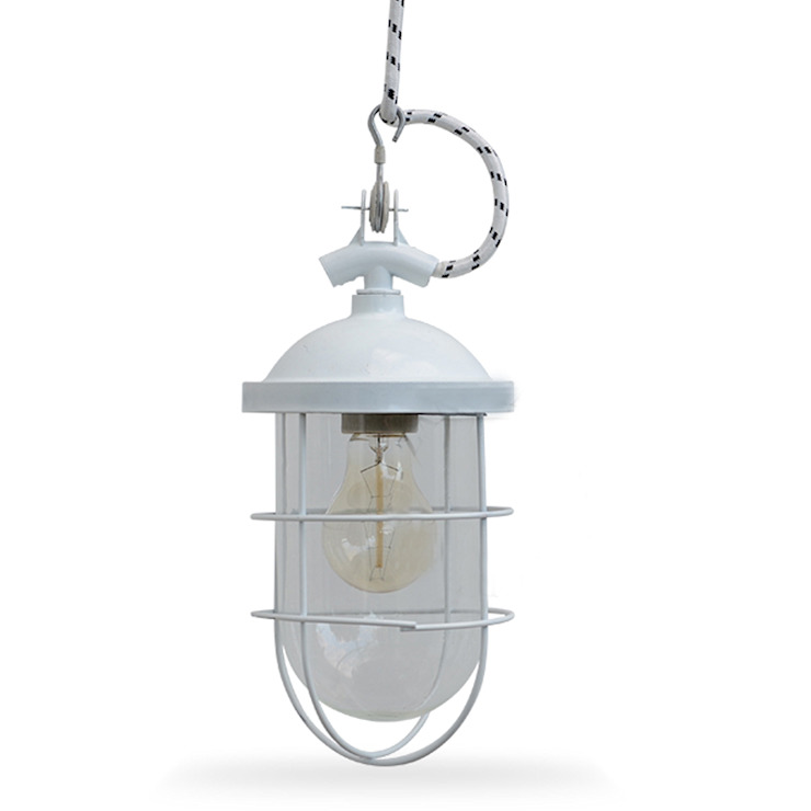 LAMPA LOFTOWA GÓRNICZA BIAŁA 051 - ZANGRA od Intterno Industrialny