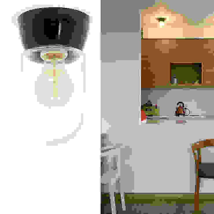 LAMPA SUFITOWA BAUHAUS - BAKELITOWA 062 ZANGRA od Intterno Skandynawski