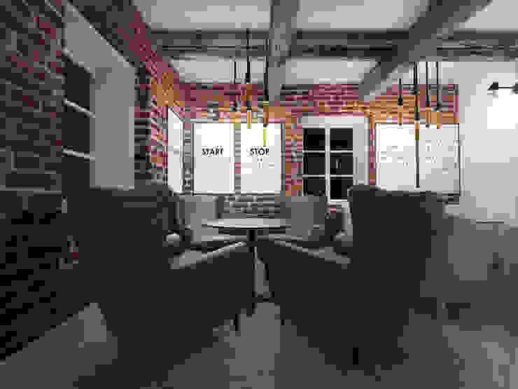 Bar & Klub Gaya Eklektik Oleh HUK atelier Eklektik