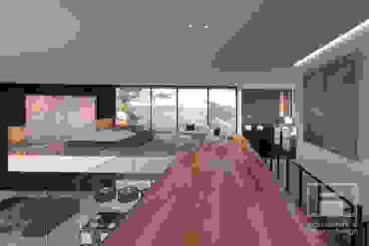 Paredes y pisos minimalistas de i-project Minimalista