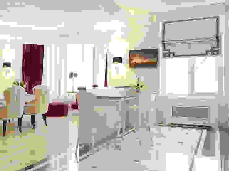 ЖК <q>Тихвин</q> Кухня в классическом стиле от Частный дизайнер и декоратор Девятайкина Софья Классический