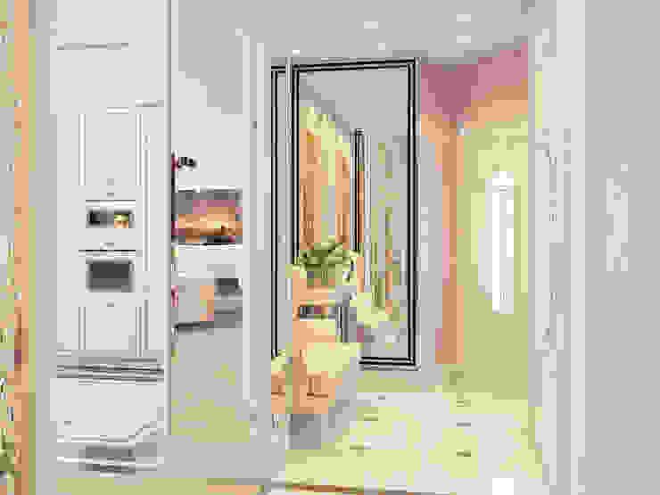 ЖК <q>Тихвин</q> Коридор, прихожая и лестница в классическом стиле от Частный дизайнер и декоратор Девятайкина Софья Классический