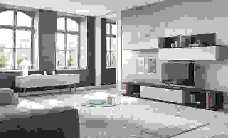 Salones Modernos de AZD Diseño Interior Moderno