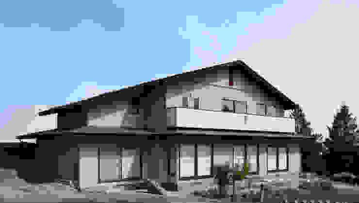 外観 モダンな 家 の 吉田設計+アトリエアジュール モダン