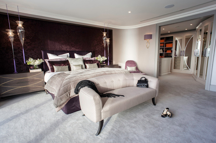 Luxurious family living homify Modern style bedroom