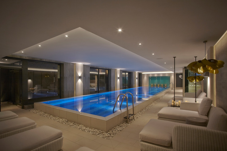 Dormy House Hotel Pool Classic style pool by motive8 Classic