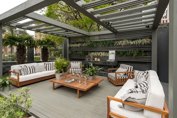 Casa Cor RS 2014 Jardins modernos por Plena Madeiras Nobres Moderno