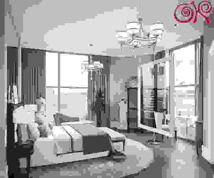 Habitaciones modernas de Дизайн студия Ольги Кондратовой Moderno