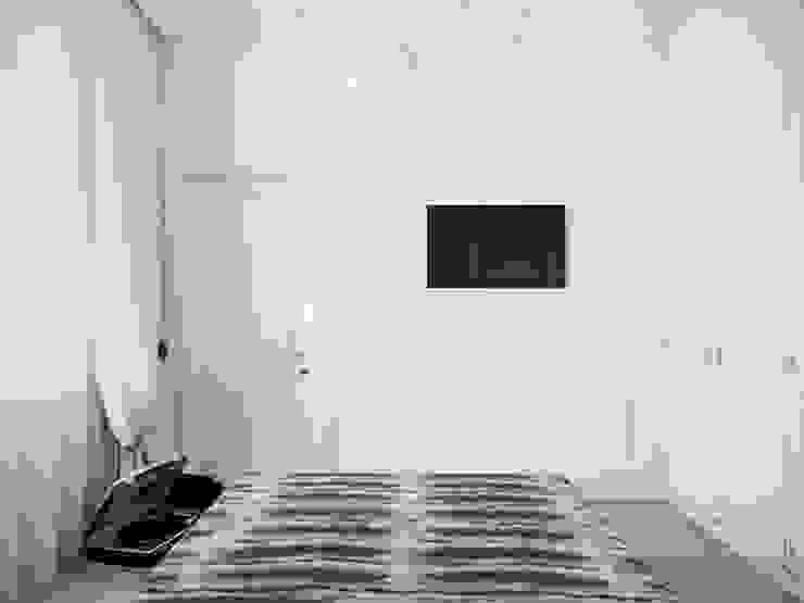 Квартира в ЖК <q>Суоми</q> Спальня в эклектичном стиле от Студия дизайна интерьера Маши Марченко Эклектичный
